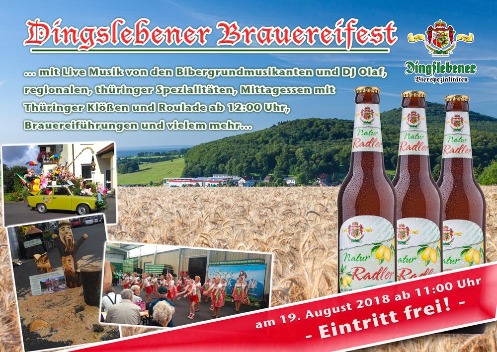 Dingslebener Brauereifest 2018
