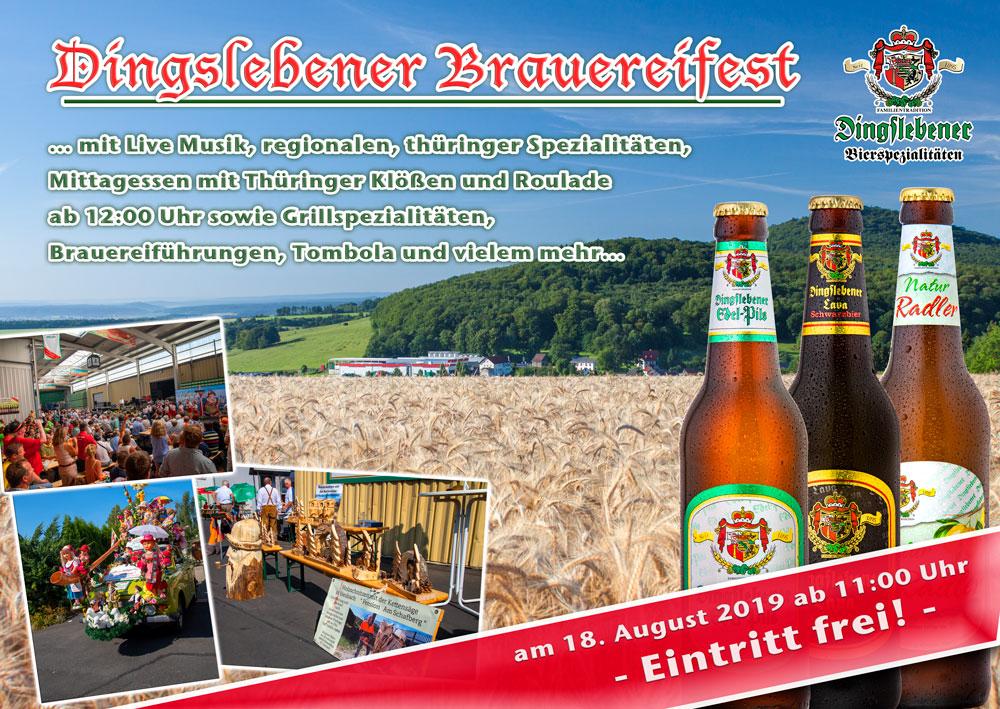 Dingslebener Brauereifest 2019